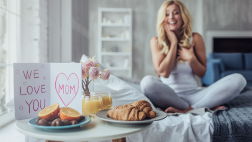 Mother's Day - Recipes for Breakfast in Bed image