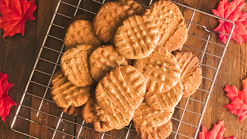 Healthy Peanut Butter Cookie Recipe image