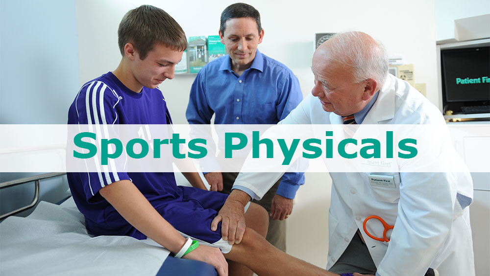 Get Your Sports Physical at Patient First! image